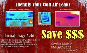 Ad for Gordon Kinlaw Thermal Image audit