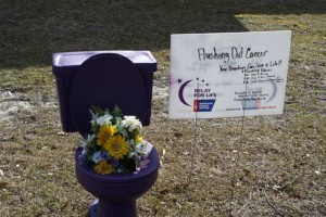 potty for relay for life