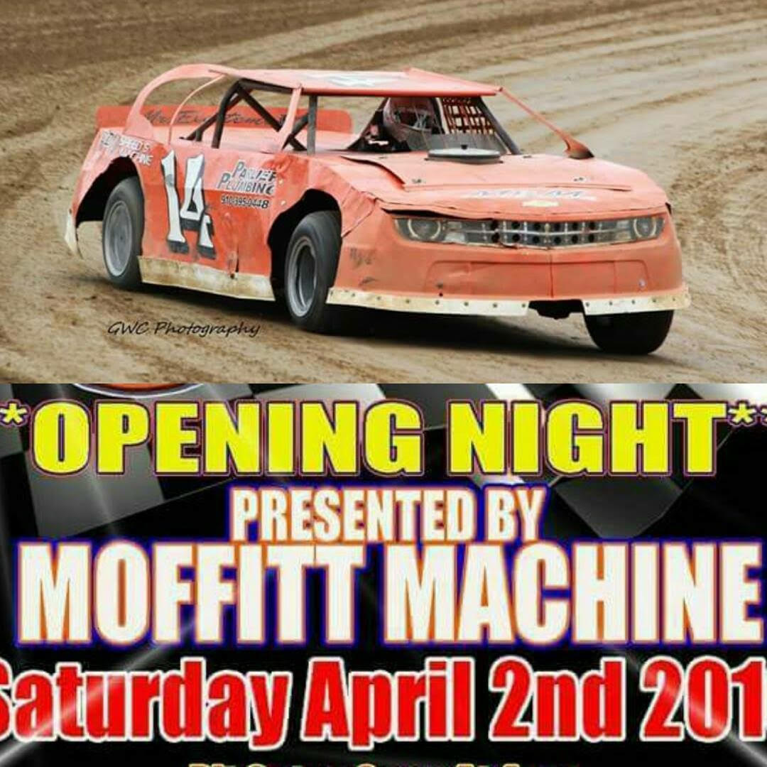 The engines will be roaring again Saturday night as Dublin Motor Speedway opens its 2016 racing season.