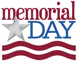 Memorial Day closings announced