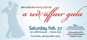 Red Affair Gala for Cape Fear Valley