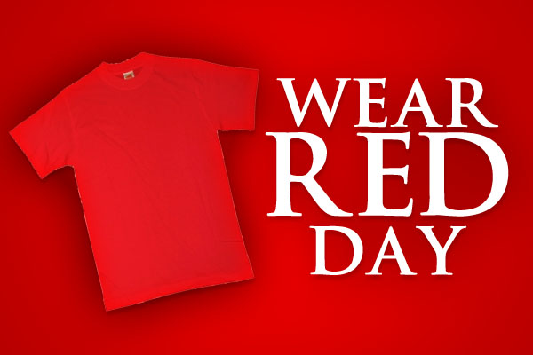 Celebrate Heart Month by Wearing Red on Fridays in ...  |For Heart Month Wear Red