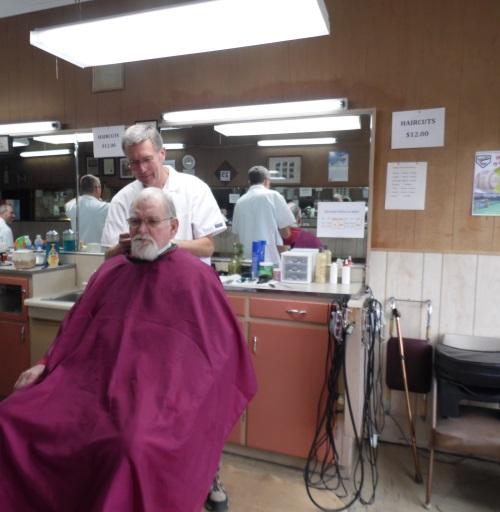 Dennis Hawes, Barber
