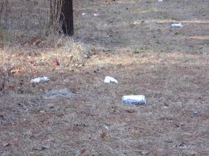 Litter in Elizabethtown