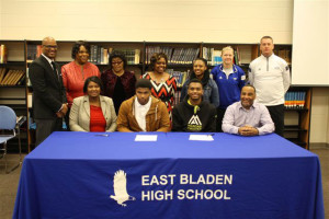 Murchison Twins Signing with WSSU football