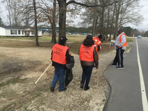 Bladen County Clean up