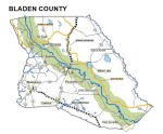 Bladen-County-Road-map