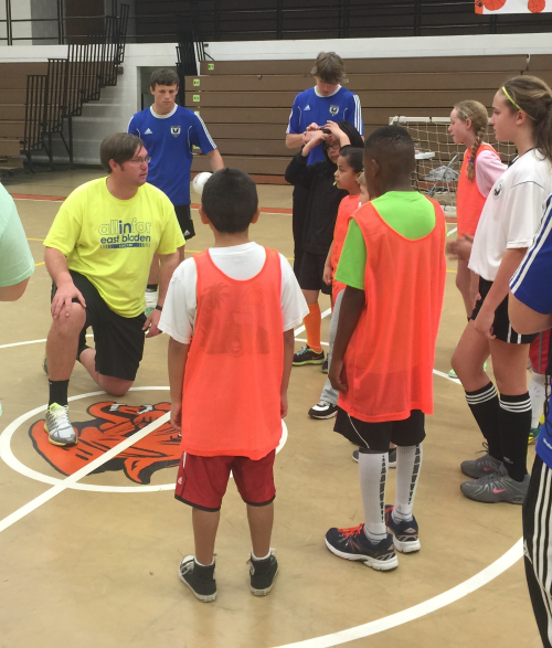 Bladen County Soccer Association's Indoor Soccer Academy