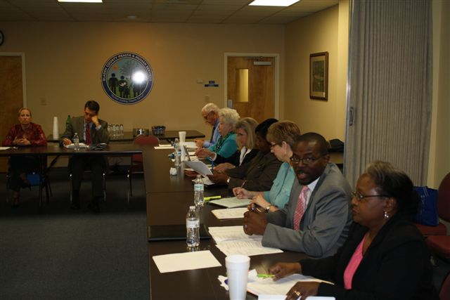 Bladen County Board of ed meeting 1