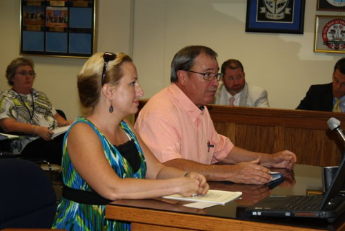 2 Bladen County Commissioners