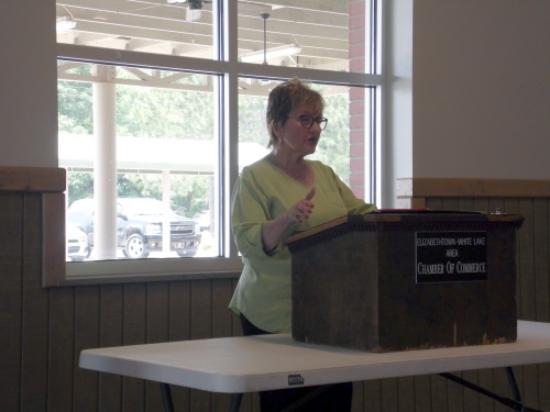 Elizabethtown Chamber of Commerce Dr. Patricia Mitchell