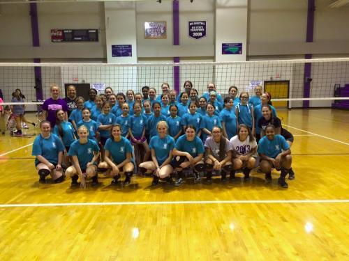 1 West Bladen Volleyball Camp