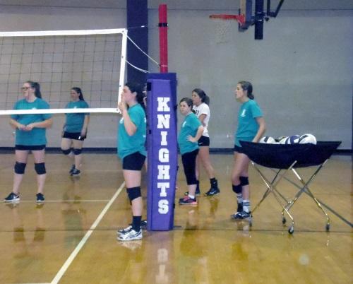 11 West Bladen Volleyball Camp