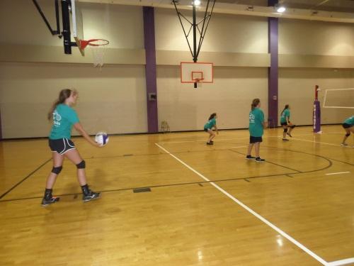 12 West Bladen Volleyball Camp