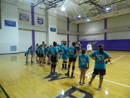 2 West Bladen Volleyball Camp
