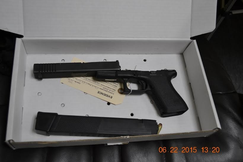 3 License Checking Station Leads to Recovery of Stolen Weapons
