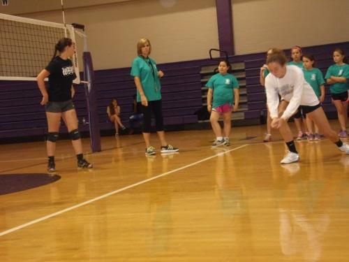 3 West Bladen Volleyball Camp