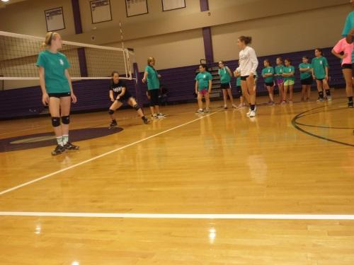 4 West Bladen Volleyball Camp