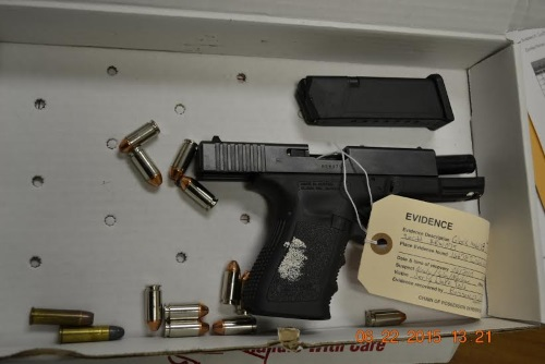 5 License Checking Station Leads to Recovery of Stolen Weapons