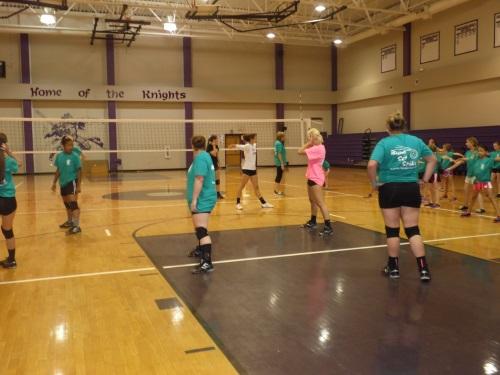 5 West Bladen Volleyball Camp