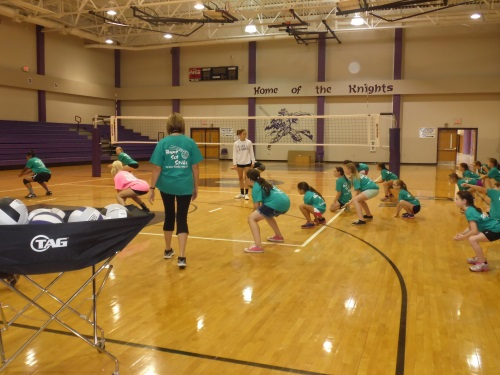 6 West Bladen Volleyball Camp