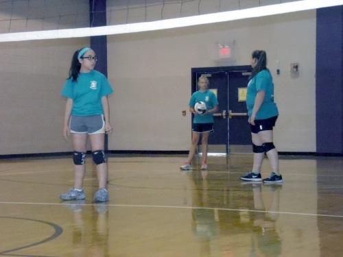 7 West Bladen Volleyball Camp