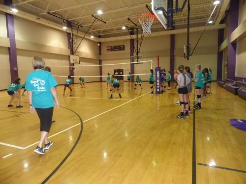 9 West Bladen Volleyball Camp