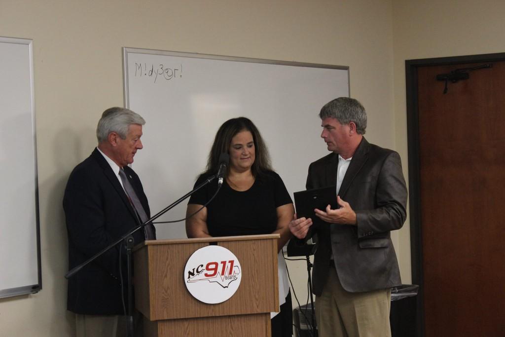 Christie Jordan at NC 911 Board