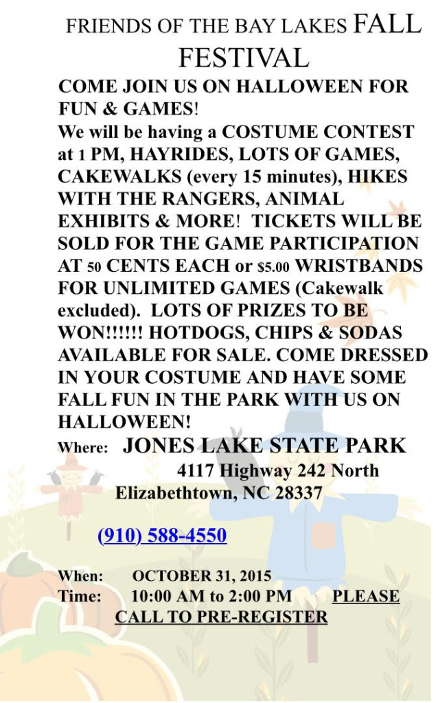 Jones Lake Fall Festival