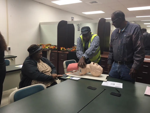 3 EMS Training at East Arcaida Bladen Community College