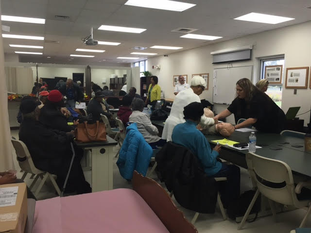 4 EMS Training at East Arcaida Bladen Community College