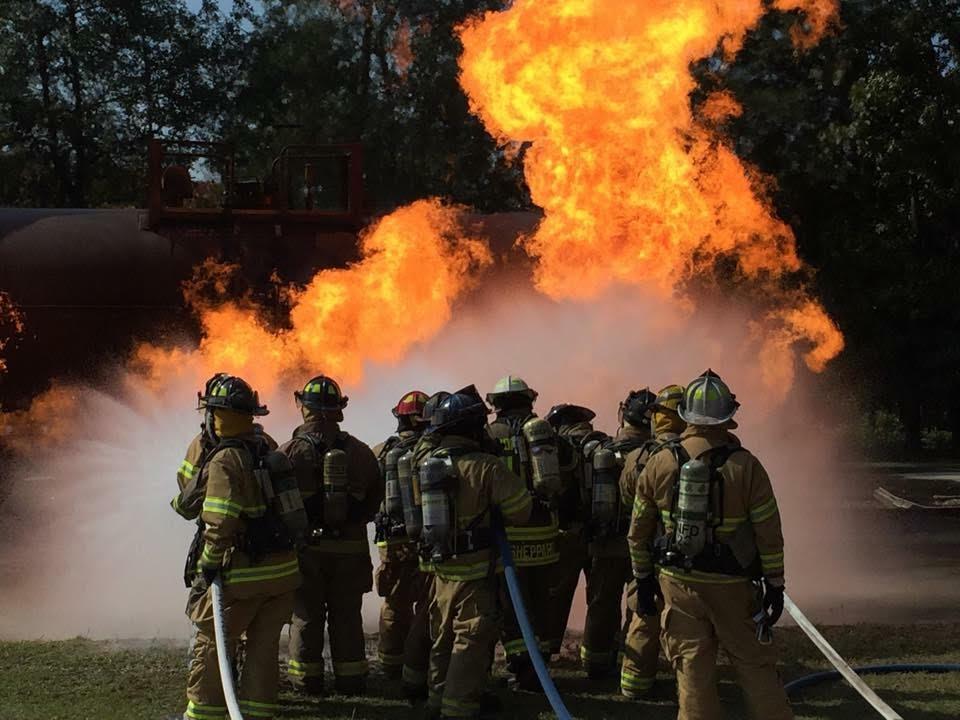 Bladen County Firefighters