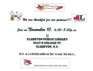 Clarkton Public Library open house