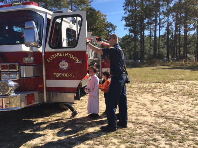 Elizabethtown Fire Department at Jones Lake