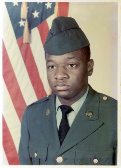 We salute, Veteran Kenneth Armstrong from Bladen County