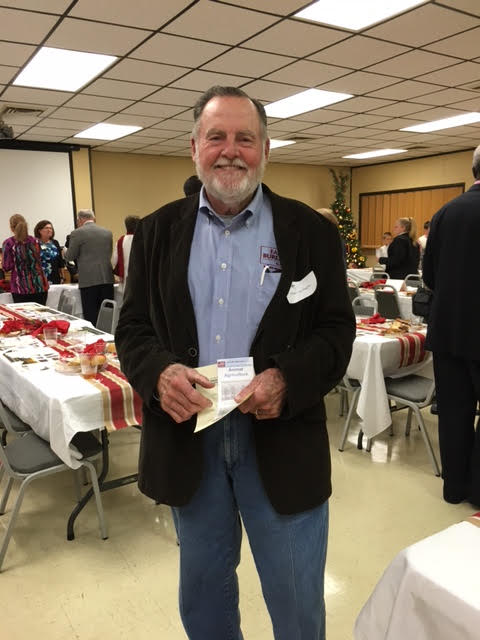 Walter McDuffie at Farm City Banquet