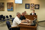 Howell and Kinlaw at Bladen Board of Commissioners