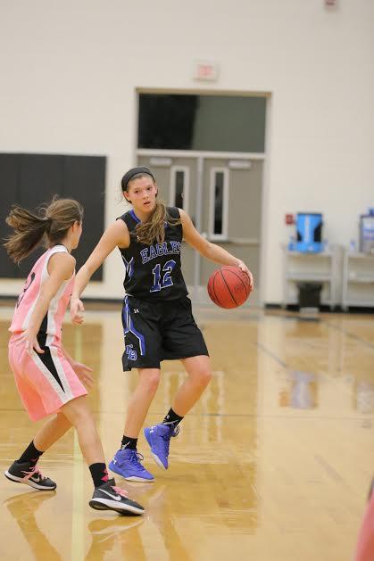 2 East Bladen vs Clinton girls basketball 16
