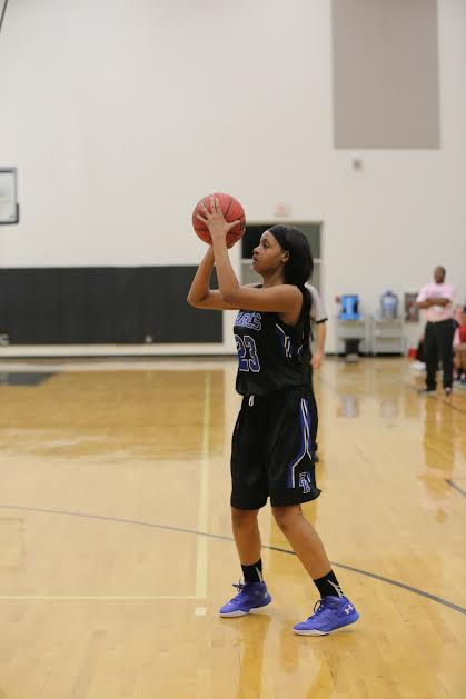 5 East Bladen vs Clinton girls basketball 16