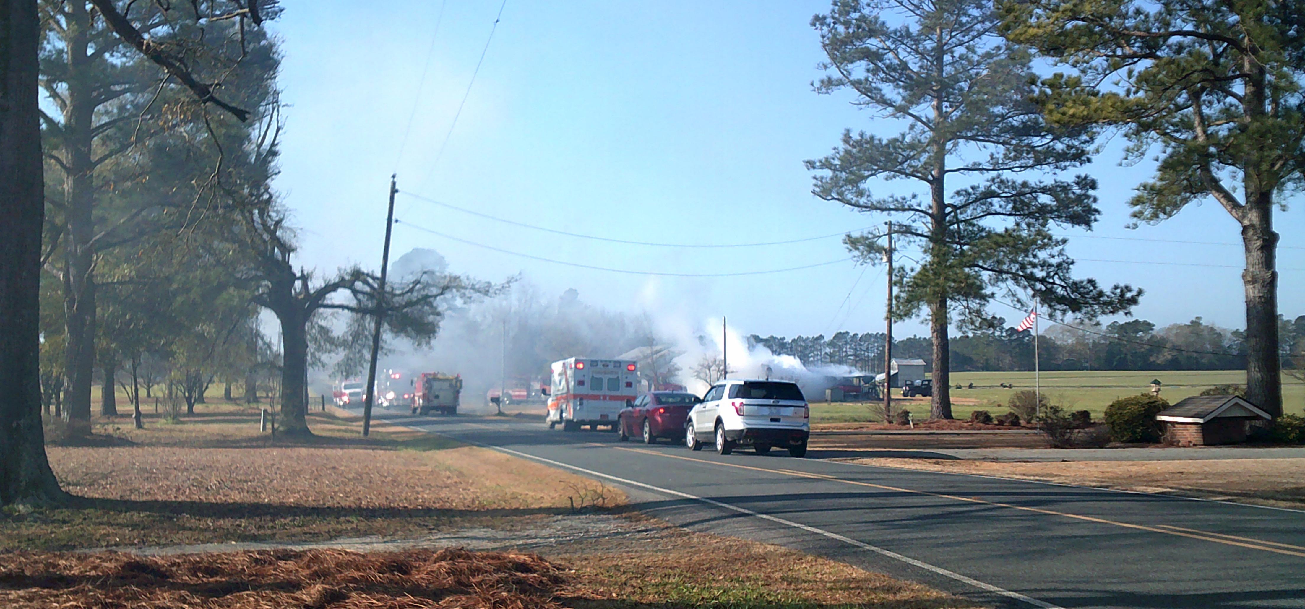 Whiteville Barn Fire 3