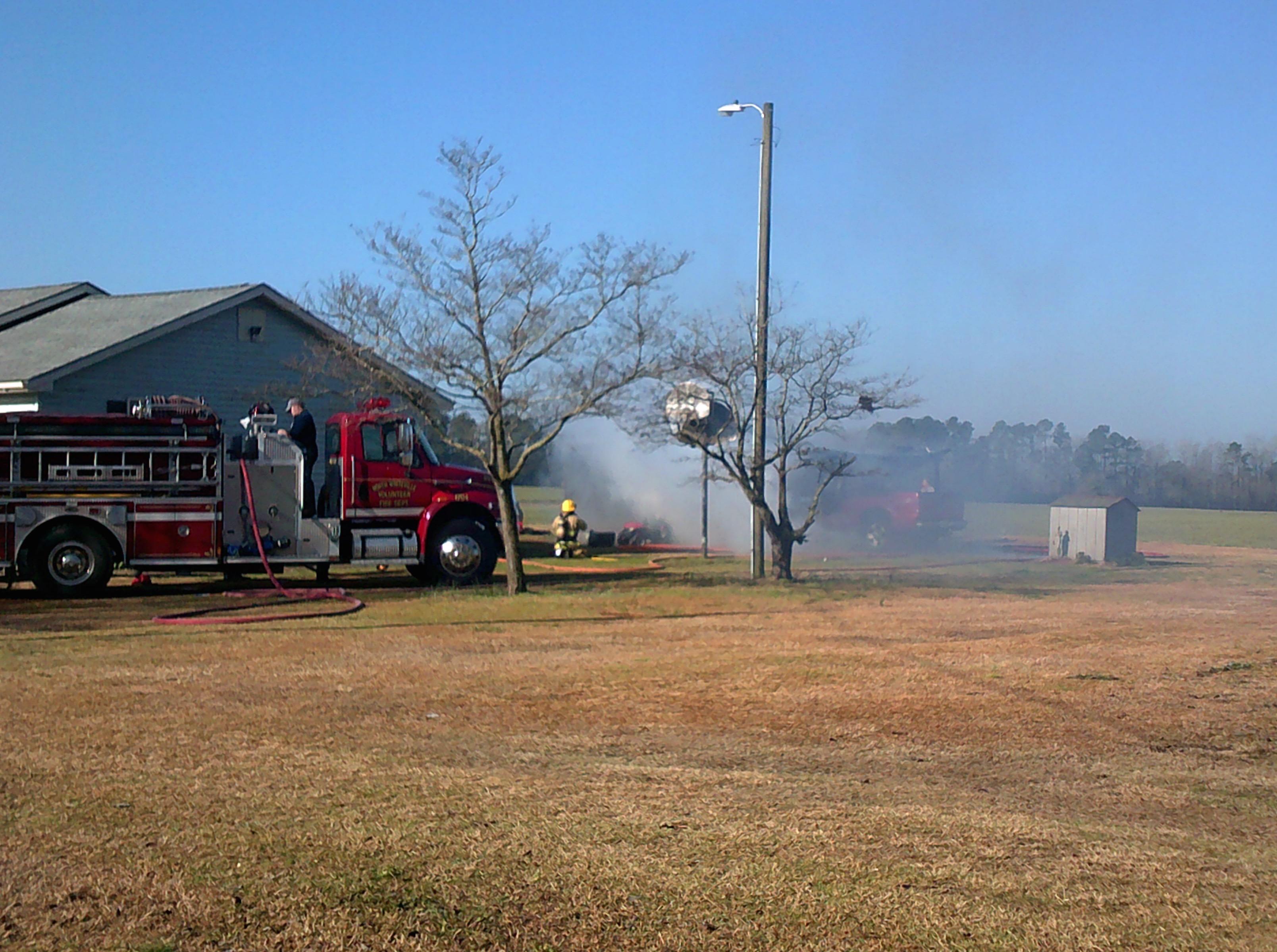 Whiteville Barn Fire