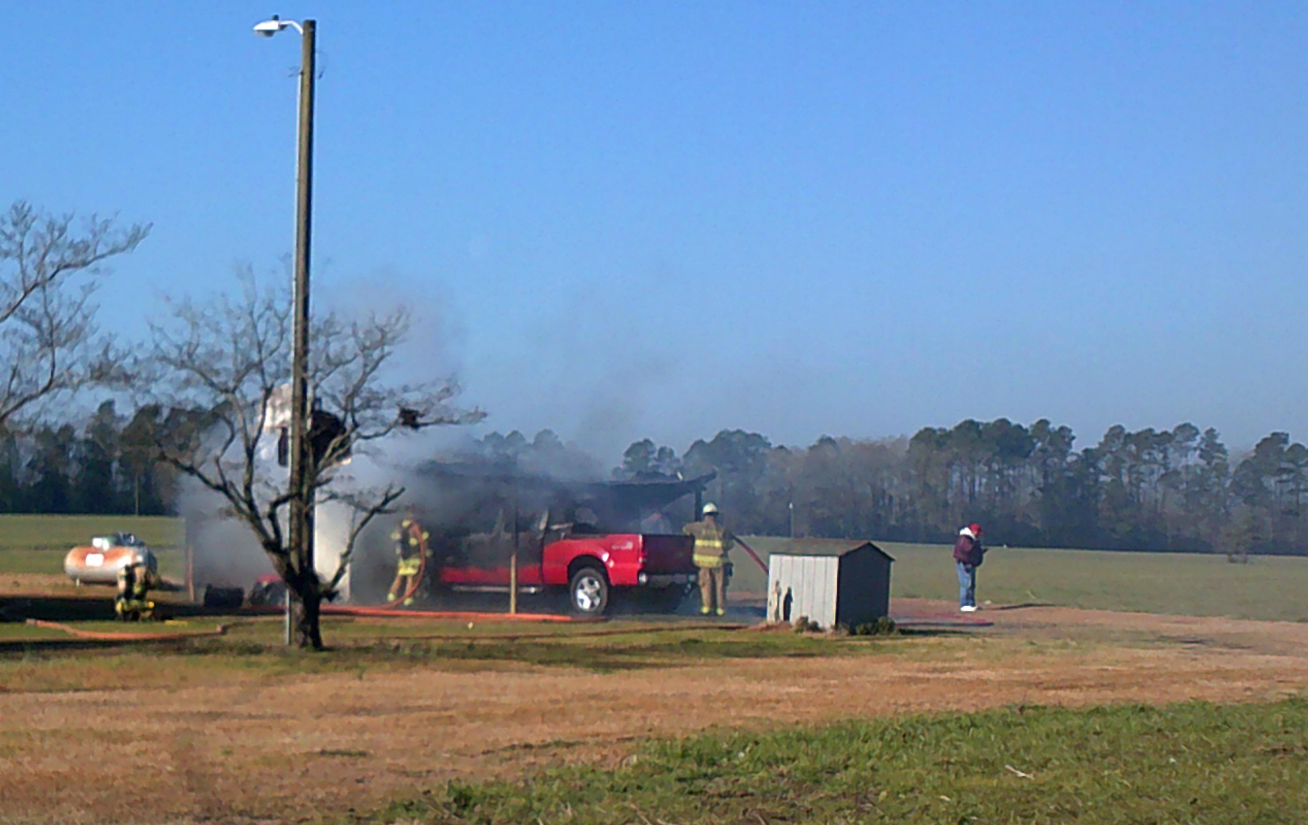 Whiteville Barn Fire 5