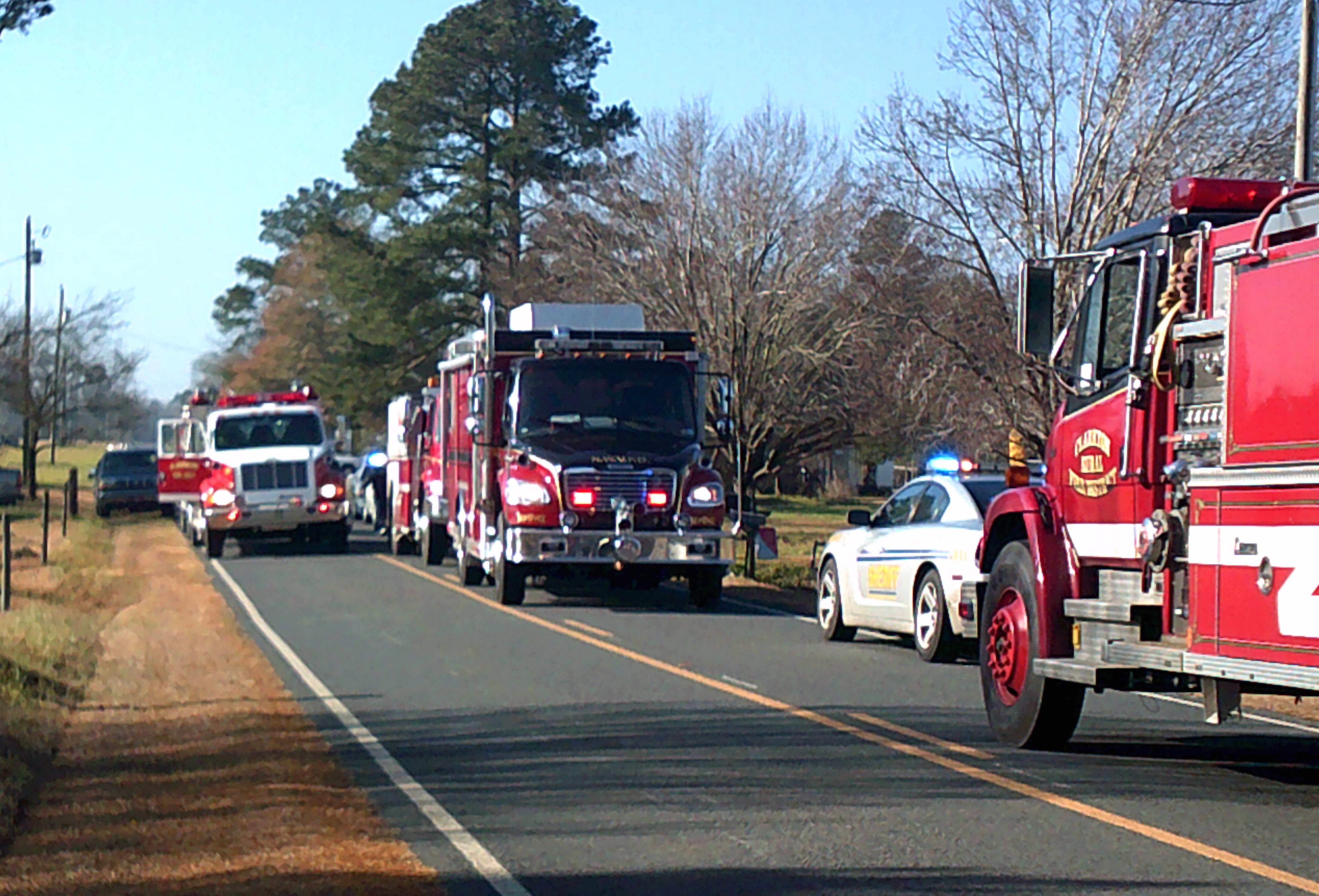 Whiteville Barn Fire 4
