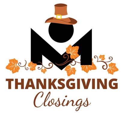 Thanksgiving holiday schedules announced