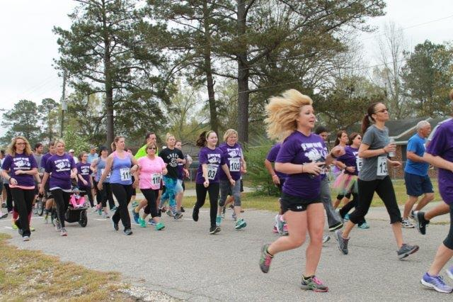 Bunny Fun Run for Bladen County Relay for Life 12
