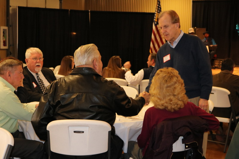 Pittenger at Bladen County Politicians Appreciation Day