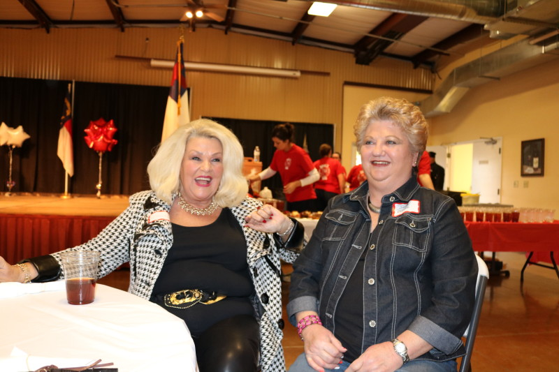 Sue Hester and Judy Bowen at Bladen County Politicians Appreciation Day