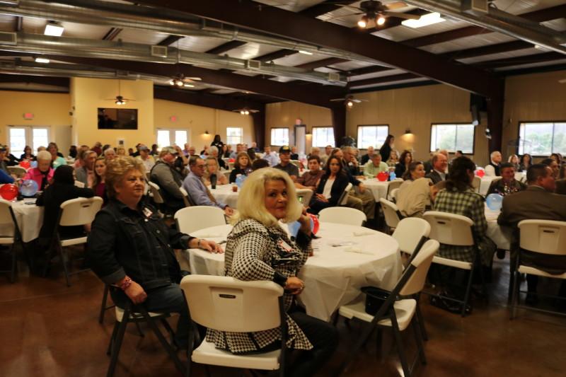 Crowd at Bladen County Politicians Appreciation Day