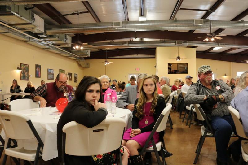 Bladen County Politicians Appreciation Day Crowd listens