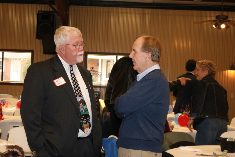 Peterson and Pittenger at Bladen County Politicians Appreciation Day
